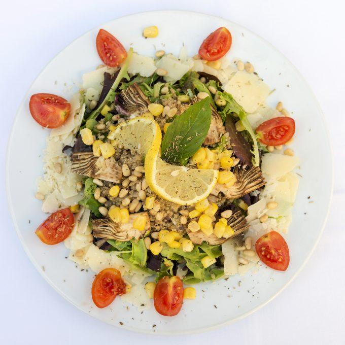 Salade Artichauts