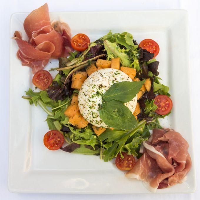 Salade Jambon cru & Mozzarella