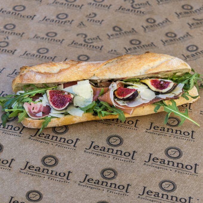 Sandwich Jambon cru – Figues