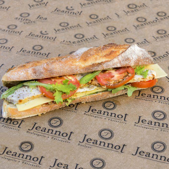Sandwich Club Poulet Rôti
